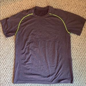 Men's large lululemon vent  tech shirt